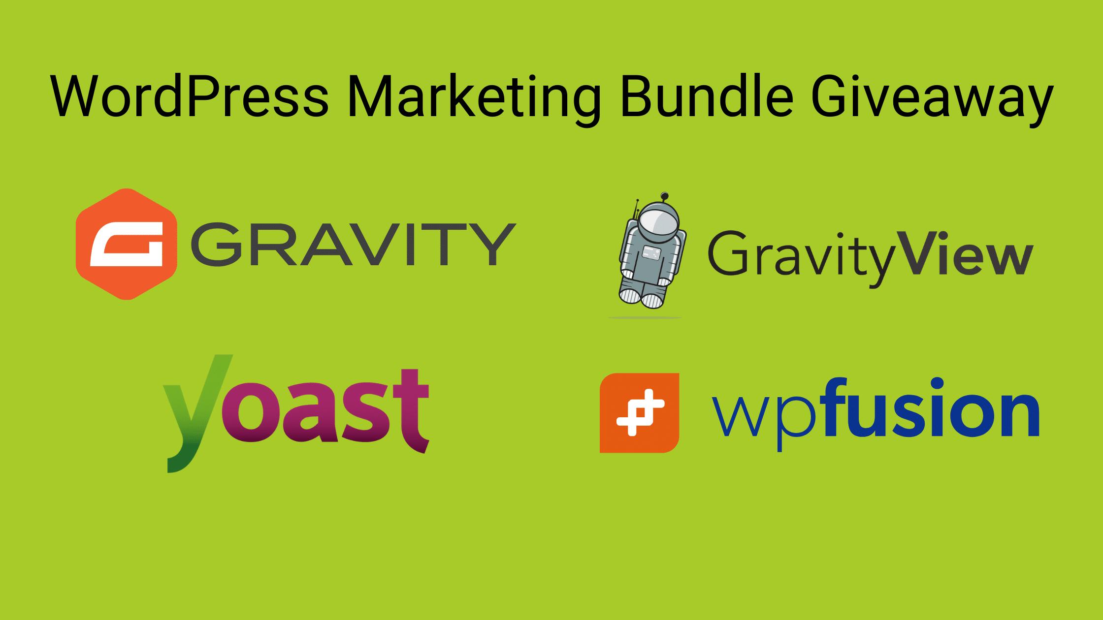 WordPress Marketing Bundle Giveaway
