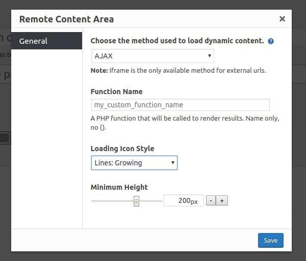Remote Content - Popup Maker